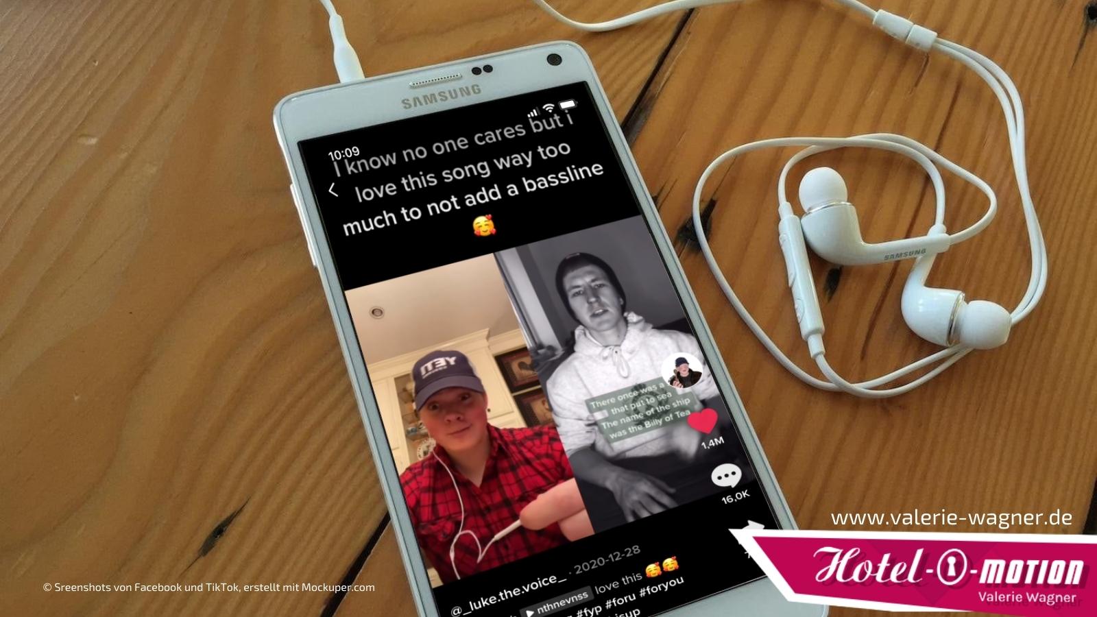 """TikTok-Duett vs. Remix für Reels auf Instagram – Nathan Evans wurde mit seinem Remake """"The Wellerman"""" weltweit erfolgreich."""